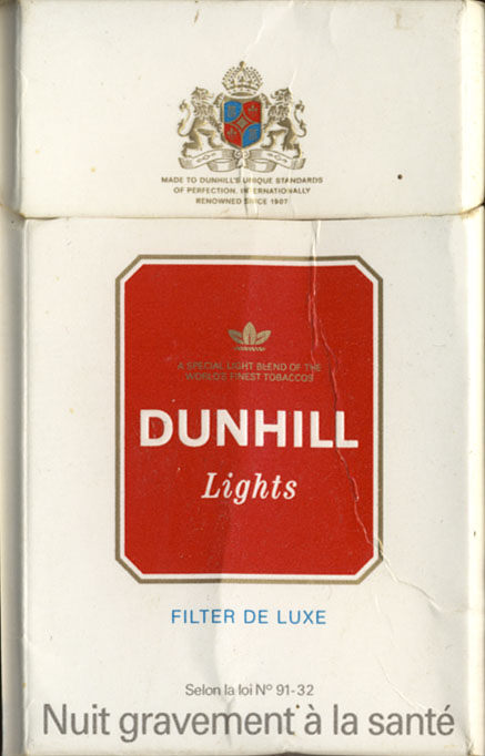 Cigarettes Regal from Europe