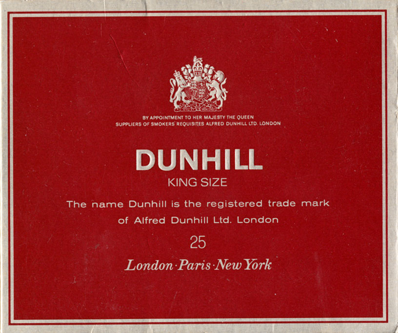 Dunhill black red shorts