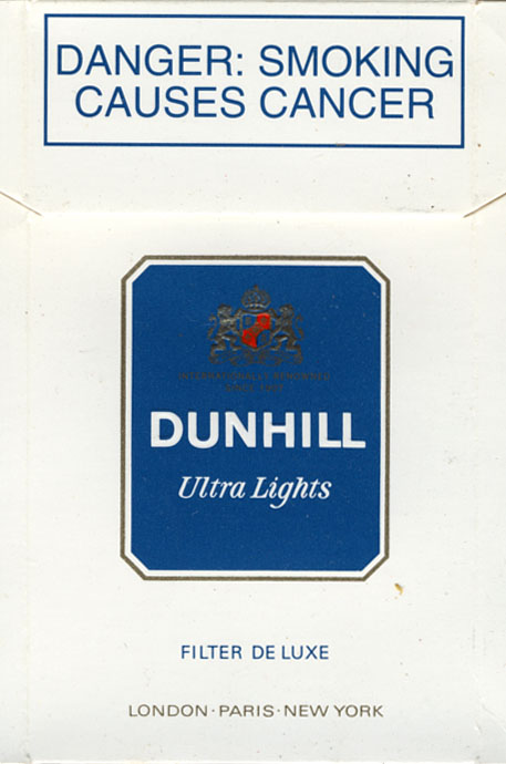 Process of how cigarettes Dunhill are made