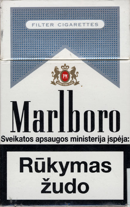 How much are a pack of cigarettes Marlboro in Louisiana