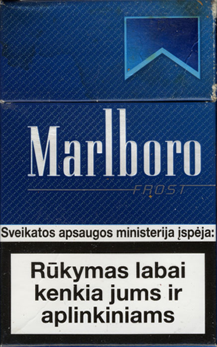 Top cigarettes Marlboro brands UK