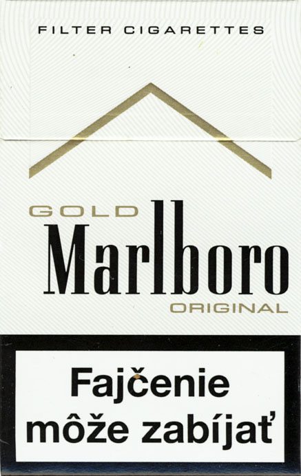 Cigarettes Marlboro filters production