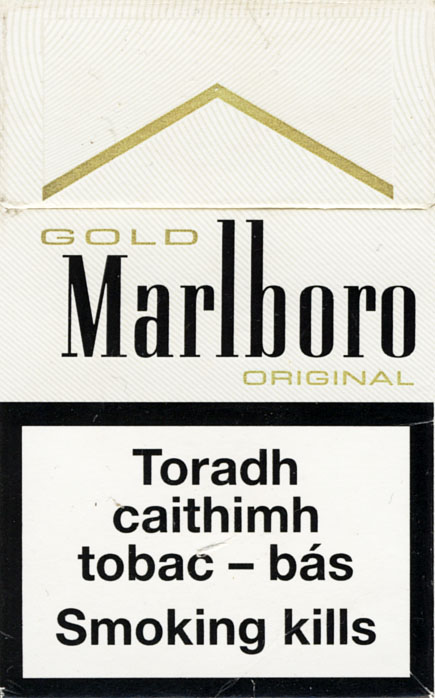 Marlboro black and gold cigarettes Marlboro