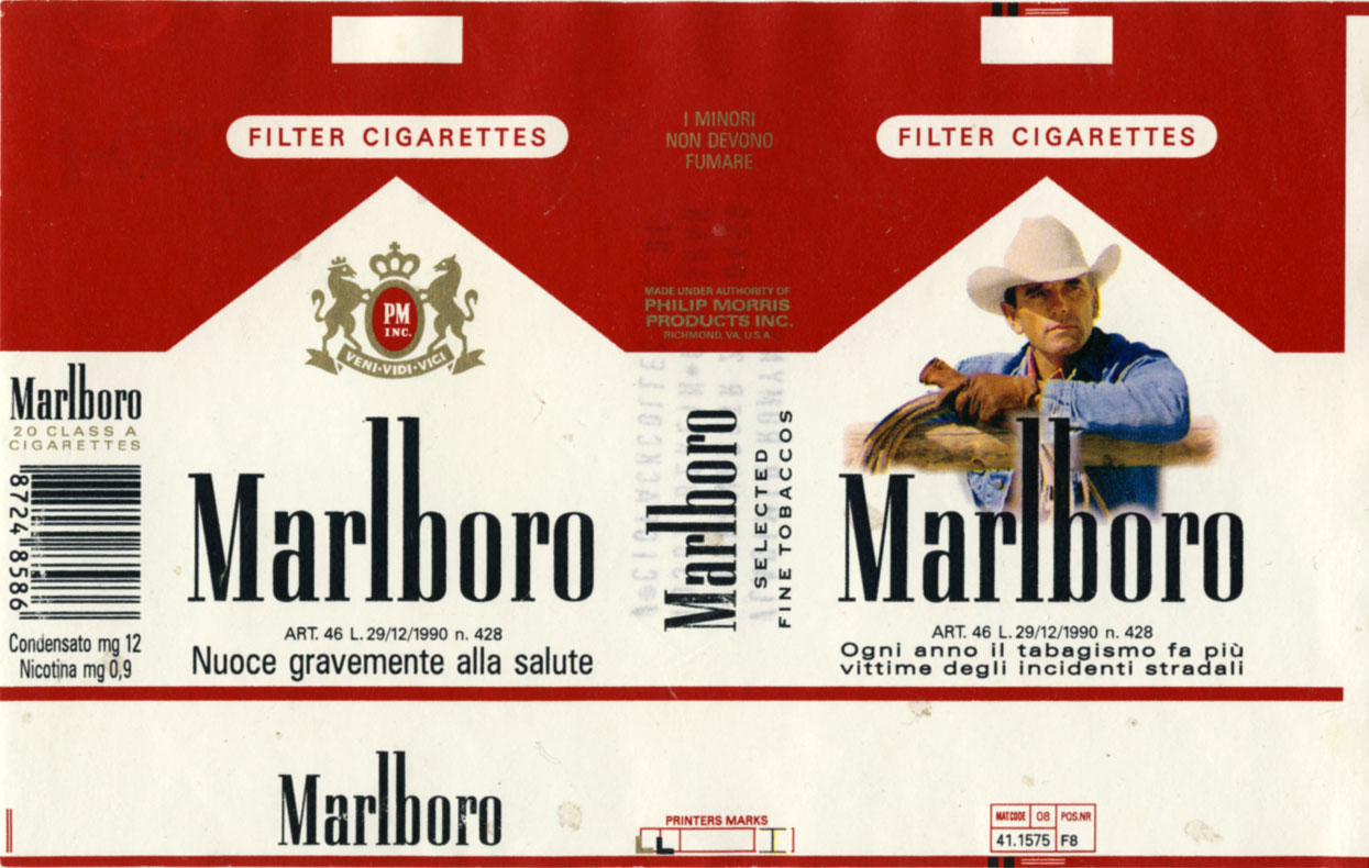 Price of Marlboro cigarettes in
