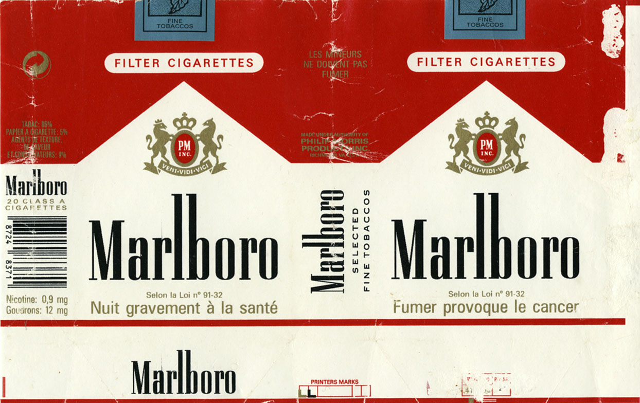 Price of pack of cigarettes Viceroy