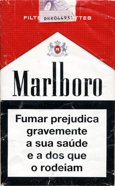 Cigarettes Marlboro runs to London