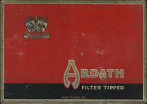 ARDATH Filter Tipped Made in England Ardath Tobacco Company