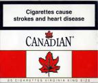 Canadian 25 Cigarettes Virginia King Size (Canadian warning, ENwhite04)