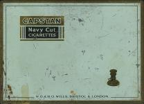 CAPSTAN Navy Cut Cigarettes W.D. & H.O. Wills, Bristol & London (design 1)