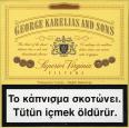 GEORGE KARELIAS AND SONS Superior Virginia Filters 20 Cigarettes (Greek, Turkish warning, EU1)