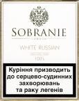 Sobranie London White Russian Traditional Blend 100's (Ukrainian warning 2007)