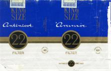 22 King Size 'Antinicot' Filter