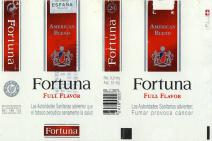 Fortuna American Blend Full Flavor (Spanish warning)