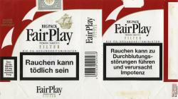 Fair Play Premium Cigarettes Filter Big Pack (German warning, EU1)