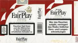 Fair Play Premium Cigarettes Filter Big Pack (German warning, EU2)