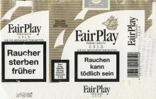 Fair Play Premium Cigarettes Gold (German warning, EU1)