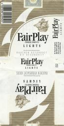 Fair Play Premium Cigarettes Lights (German warning)