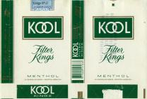 Kool Filter Kings Menthol 20 Cigarrillos Rubios - Industria Argentina