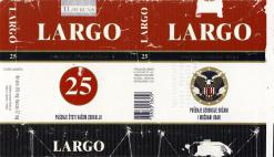 Largo American Original Blend 25 (Croatian warning)