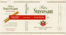 Peter Stuyvesant Filter 21 Rich Choice Tobaccos King Size