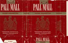 PALL MALL Filter Cigarettes Wherever Particular People Congregate Made U.S.A.
