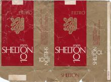 SHELTON Filtro Shelton 100 mm 20 Cigarrillos Rubios Industria Argentina (soft)
